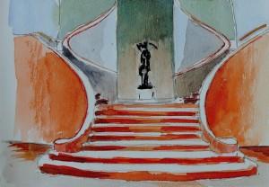 Escalier Musée des Bx A236