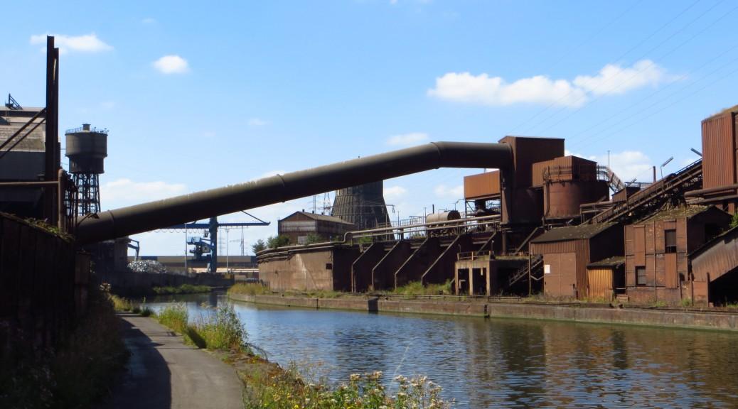 archi industrielle ; Sambre © Hendrik Ploeger